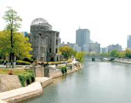 原爆ドーム(平和公園)